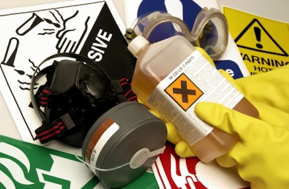 Chemical Safety on Construction Sites